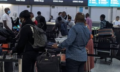 COVID-19: Another 296 stranded Nigerians return from UK