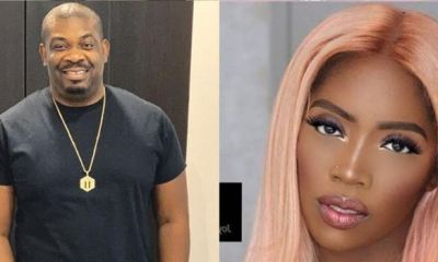 DSS cautions Don Jazzy, Tiwa Savage over negative comments against Buhari's govt