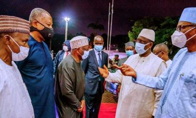 Buhari hosts Senegal, Guinea Bissau presidents in Abuja