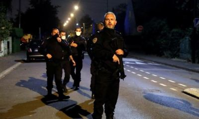 Four suspects arrested in connection with beheading of French teacher
