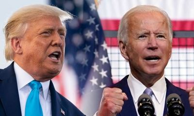 AMERICA DECIDES: Biden I'm the lead against Trump in divisive US election