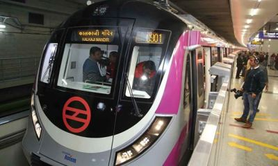 India commissions first-ever driverless train