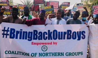 Coalition of Northern groups stage protest in Katsina over kidnapped students