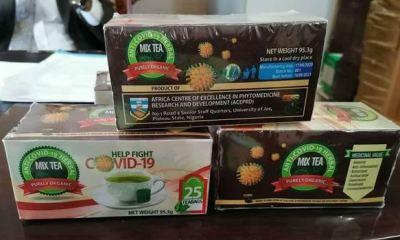 UNIJOS develops herbal tea for COVID-19 prevention
