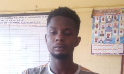 21-yr-old 400L student of Oduduwa varsity arrested for internet fraud