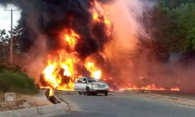 One dies in Ogun fuel tanker explosion