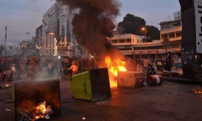 Dozen injured in Lebanon as police, anti-lockdown protesters clash