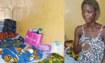 Mother of five delivers quadruplets in Edo, husband flees