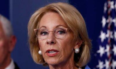 U.S education secretary resigns, cites Trump's role in Capitol riot