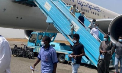 Another 424 stranded Nigerians return from Saudi Arabia