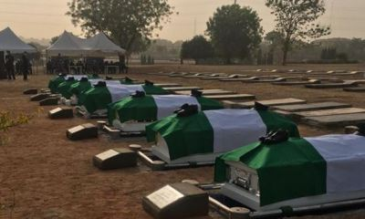 NAF holds funeral for seven personnel of Abuja air crash