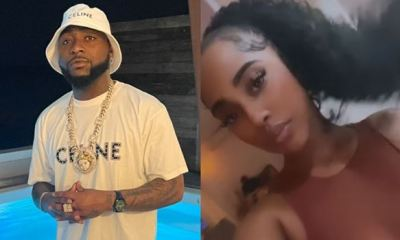 Eyebrows raised, as Davido seen with bi-sexual lady on streets of St. Maarten (Video)