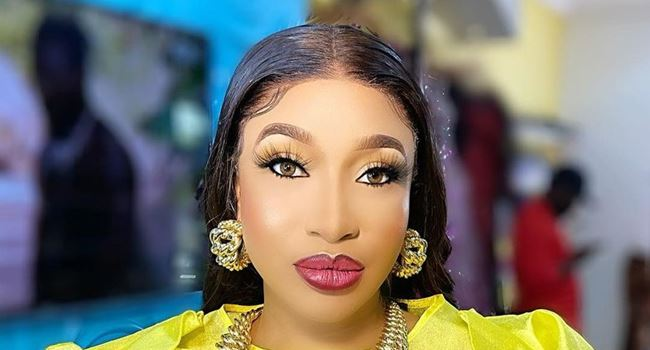 Tonto Dikeh reacts after Pilgrims Commission denies appointing her as Peace Ambassador