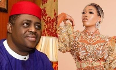 Fani-Kayode calls fashion designer, Toyin Lawani, 'Anti-Christ' for posing in kinky nun outfit