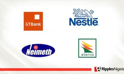 GTBank, Nestle Nigeria, Eterna Oil and Neimeth make Ripples Nigeria stock watchlist