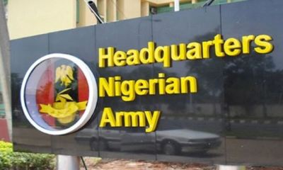 Fire outbreak at army headquarters Abuja