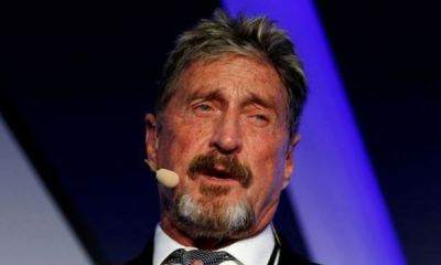 CRYPTOCURRENCY: FBI, DOJ go after McAfee founder for scamming investors