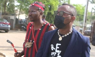Sowore takes 'juju man' to court hearing