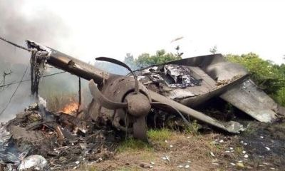 Ghastly plane crash in South Sudan leaves 10 people dead