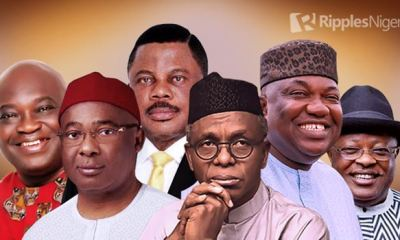 RANKING NIGERIAN GOVERNORS, MARCH, 2021: El-Rufai's inflexibility, South-East Governors' hopelessness