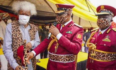 Ogun launches Amotekun, decorates Soyinka as super marshal