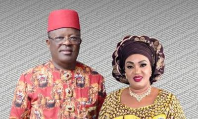 Ebonyi Govt debunks report of wife working against Umahi, blames opposition