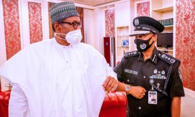 Buhari formally meets new IGP