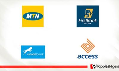 First Bank, MTN Nigeria, Access Bank, Union Bank make Ripples Nigeria stocks-to-watch list