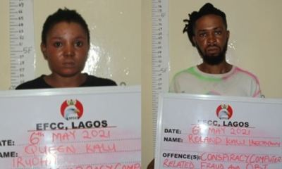 EFCC arrests siblings for alleged internet fraud in Lagos