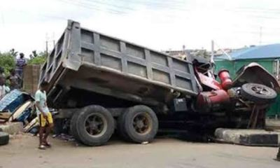 Panic in Anambra as truck loaded with ammunitions falls in Onitsha