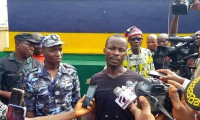 Arrested ESN fighter reveals source of funding, charms, as police kill 6 in foiled attack on HQ