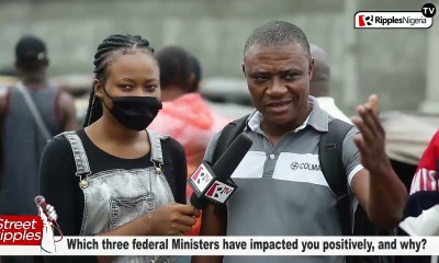 Which three federal Ministers have impacted you