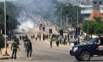Police disperse June 12 protesters with teargas in Abuja