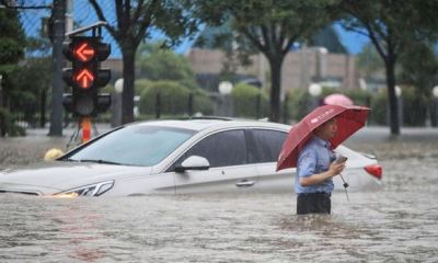 12 dead, thousands evacuated in China floods