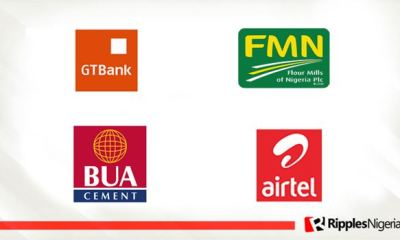 Non-bourse activities push GTCO, Flour Mills, BUA Cement, Airtel Nigeria into stocks-to-watch list this week