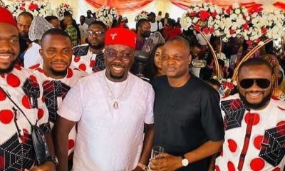 Anambra State standstill as socialite Obi Cubana lays mother to rest