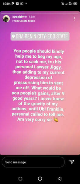 Israel DMW wants Nigerians to beg Davido, says he does not want to lose his job