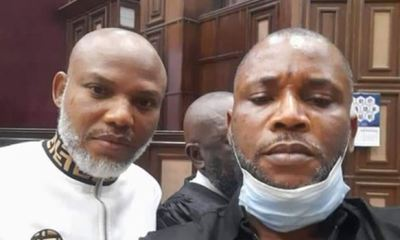 Kanu arrives court as journalists, lawyers, FHC staff barred from premises