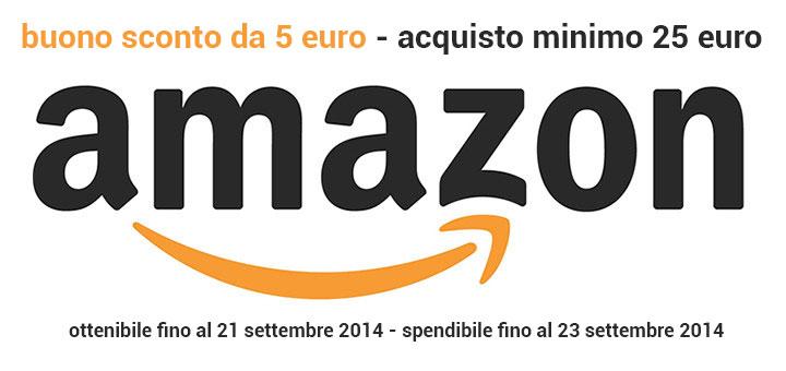 Ultimo giorno per ottenere il buono sconto Amazon.it da 5 Euro!
