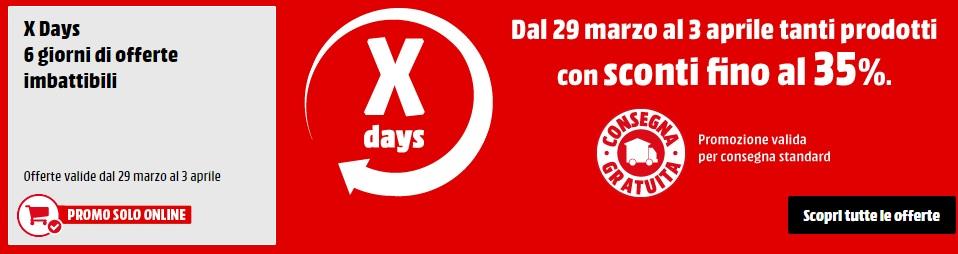 X-Days MediaWorld dal 29 marzo al 4 aprile – PS Plus 365gg a 42,99 Euro