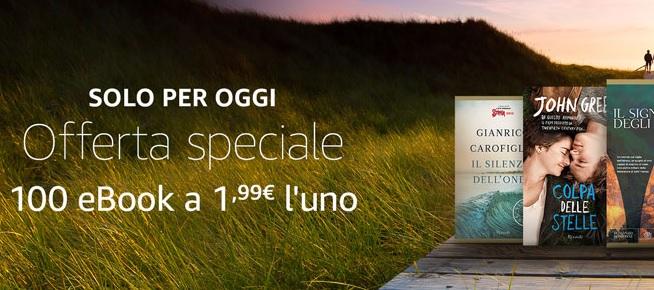 Solo per oggi 100 ebook a 1,99 Euro l'uno