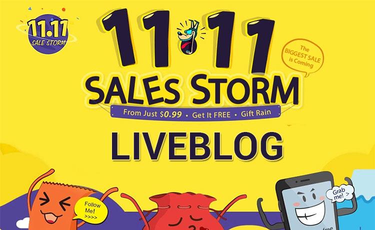 Liveblog offerte Gearbest 11/11 Sales Storm – Live in corso | Redmi Note 4 3gb/32gb 156 Euro – Xiaomi Mi5 Black 234 Euro – Dashcam 12 Euro