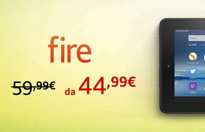 Amazon Fire 7″ a 44,90 Euro