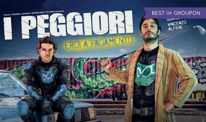 """Biglietti del cinema gratis per il film """"I Peggiori"""""""