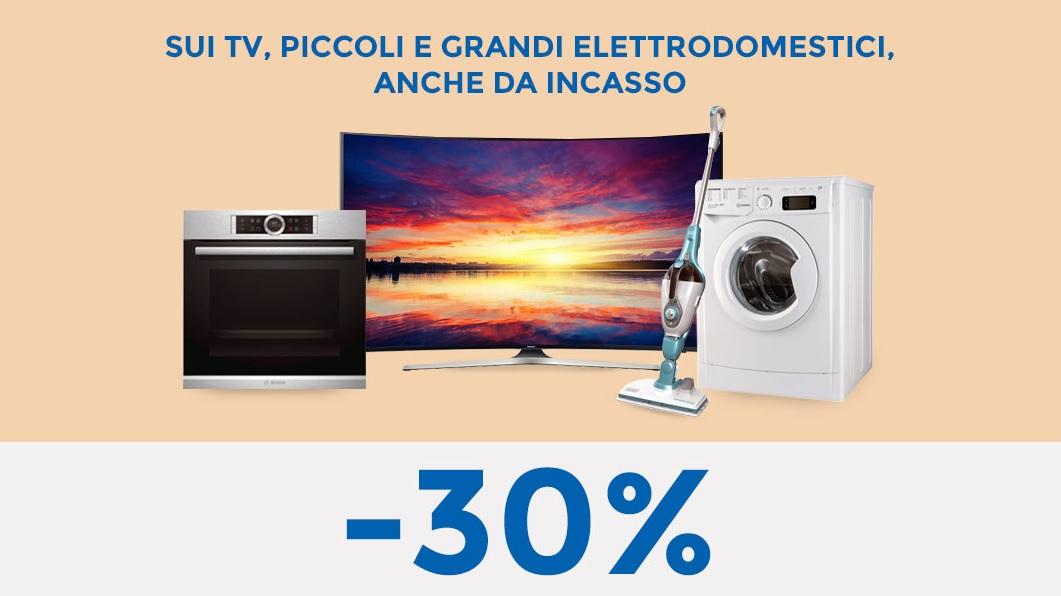 Offerta batticuore Unieuro: 30% di sconto sull\'acquisto di TV ...