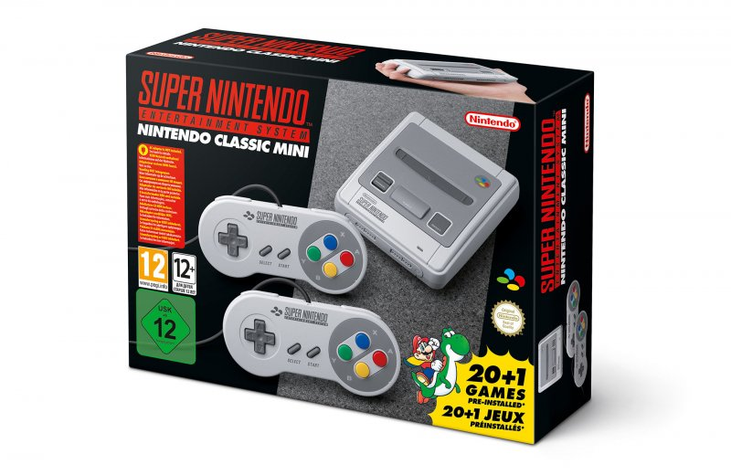 Super Nintendo Classic Mini in preordine a 79,98 Euro in preordine su Amazon