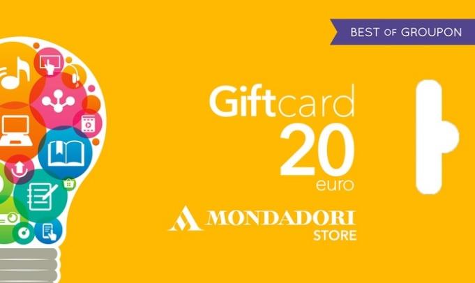 Gift Card Mondadori da 10/20 Euro scontata del 50% (5/10 Euro)