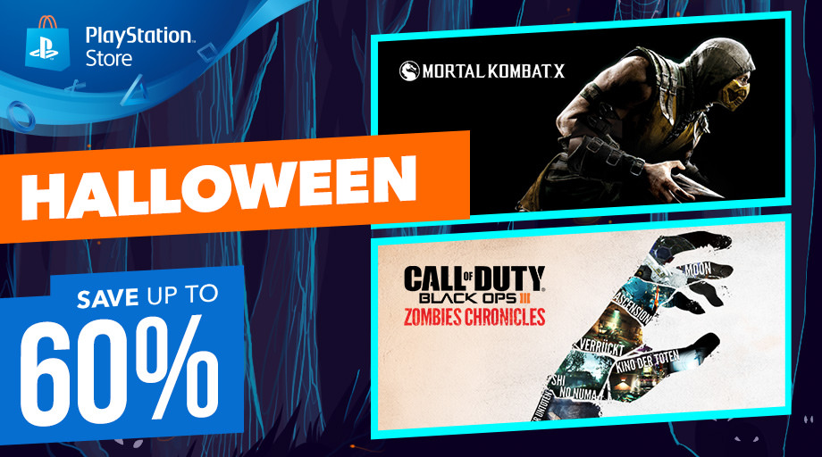 Promozione di Halloween su Playstation Store + The Witcher 3 da 14,99€