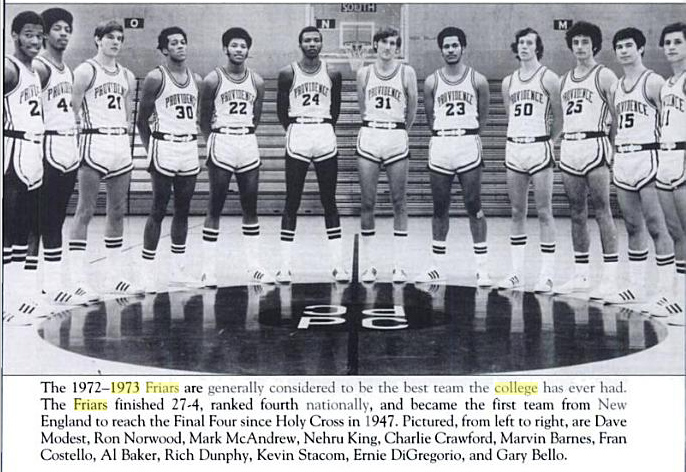 Champions: 1973 Providence College Friars – Trophy Lives
