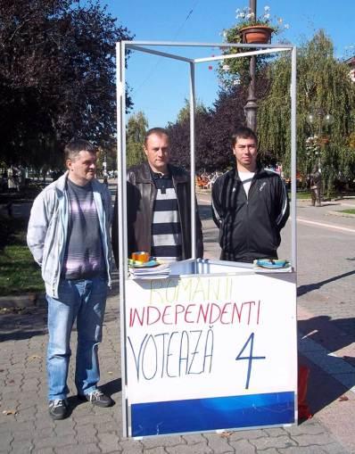 Romanii Independenti din Serbia lista 4